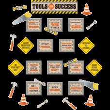 Under Construction Tools for Success Mini Bulletin Board