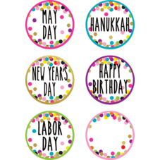Confetti Holidays and Special Events Calendar Days
