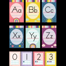 Oh Happy Day Alphabet Bulletin Board