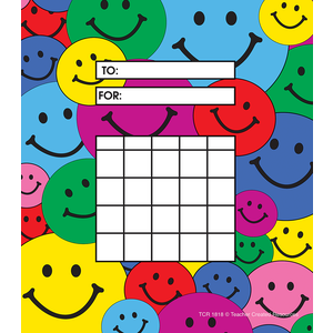TCR1818 Happy Faces Incentive Charts Image