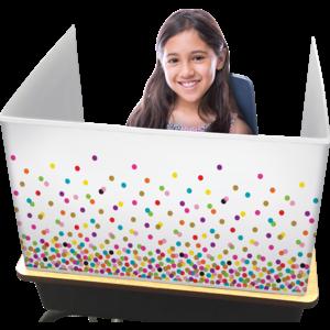 TCR20345 Confetti Classroom Privacy Screen Image