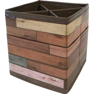 TCR20373 Reclaimed Wood Desktop Organizer Image