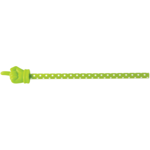 TCR20679 Lime Polka Dots Hand Pointer Image