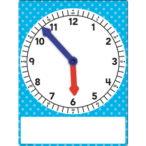 TCR20710 Magnetic Foam Geared Clock - Large Image