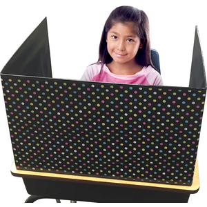 TCR20763 Chalkboard Brights Classroom Privacy Screen Image
