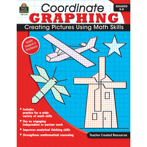 TCR2115 Coordinate Graphing Grade 5-8 Image