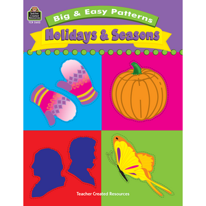 TCR2602 Big & Easy Patterns: Holidays and Seasons Image