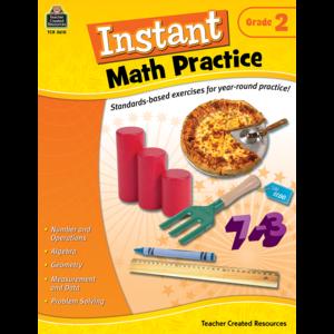 TCR2610 Instant Math Practice Grade 2 Image