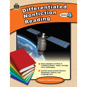 TCR2921 Differentiated Nonfiction Reading Grade 4 Image