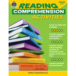 TCR2980 Reading Comprehension Activities Grade 3-4 Image