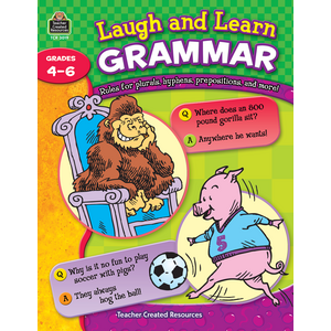 TCR3019 Laugh and Learn Grammar Image