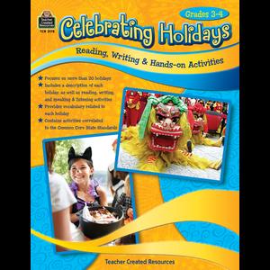 TCR3178 Celebrating Holidays: Reading, Writing & Hands-on Activities Image