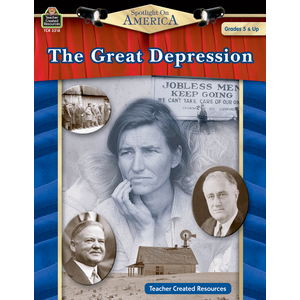 TCR3218 Spotlight on America: The Great Depression Image