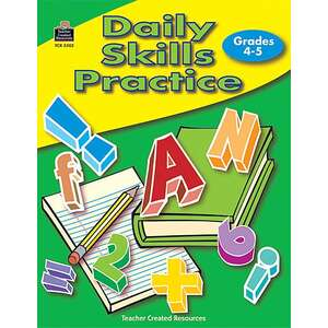 TCR3302 Daily Skills Practice Grades 4-5 Image