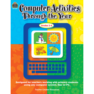 TCR3449 Computer Activities Through the Year Image