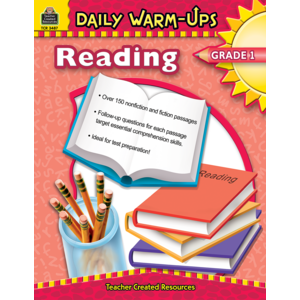 TCR3487 Daily Warm-Ups: Reading, Grade 1 Image