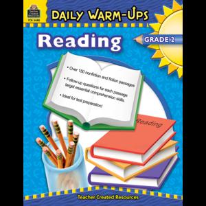 TCR3488 Daily Warm-Ups: Reading, Grade 2 Image