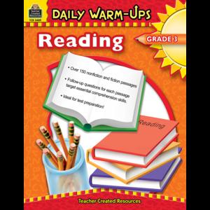 TCR3489 Daily Warm-Ups: Reading, Grade 3 Image