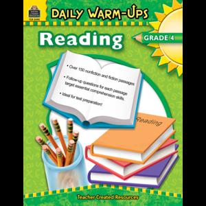 TCR3490 Daily Warm-Ups: Reading, Grade 4 Image