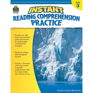 TCR3656 Instant Reading Comprehension Practice Grade 3 Image