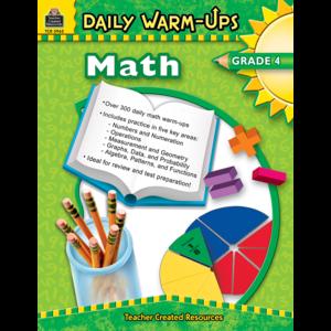 TCR3962 Daily Warm-Ups: Math, Grade 4 Image