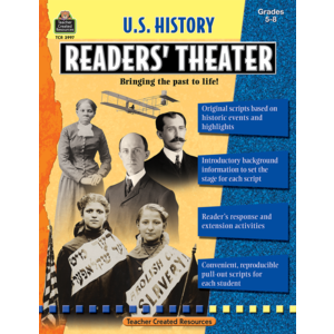 TCR3997 US History Readers' Theater Grade 5-8 Image