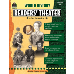 TCR3998 World History Readers' Theater Grade 5-8 Image