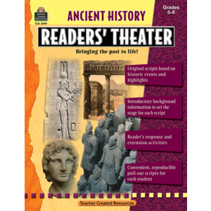 TCR3999 Ancient History Readers' Theater Grade 5-8 Image