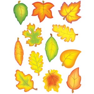 TCR4419 Fall Leaves Accents Image