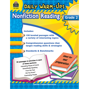 TCR5032 Daily Warm-Ups: Nonfiction Reading Grade 2 Image