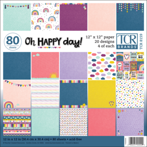 TCR5159 Oh Happy Day Project Paper Image