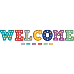 TCR5869 Marquee Welcome Bulletin Board Display Image