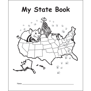 TCR60001 My Own State Book Image