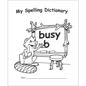 TCR60111 My Own Spelling Dictionary Image