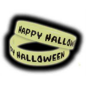 TCR6119 Happy Halloween Glow-in-the-Dark Wristbands 10-Pack Image