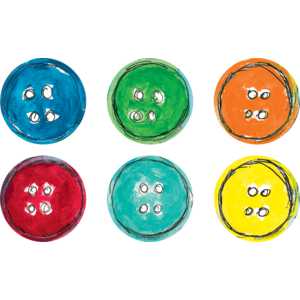 TCR62015 Pete the Cat Groovy Buttons Magnetic Accents Image