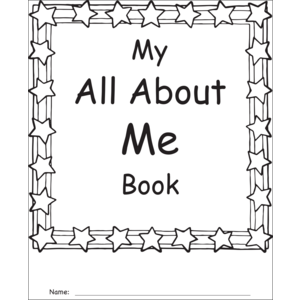 TCR62017 My Own All About Me Book Grades 1-2 Image