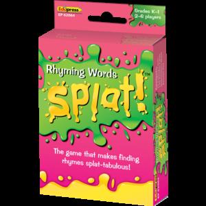 TCR62064 Rhyming Words Splat Game Image