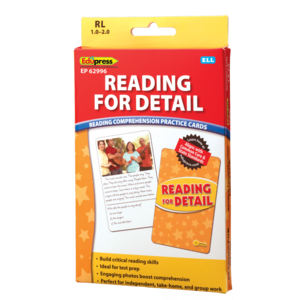 TCR62996 Reading for Detail Practice Cards Yellow Level Image