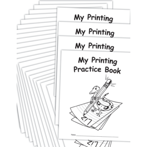 TCR66804 My Own Printing Practice Book 25-Pack Image