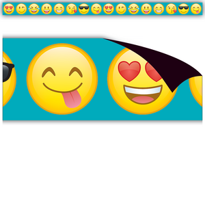 TCR77031 Emoji Magnetic Border Image
