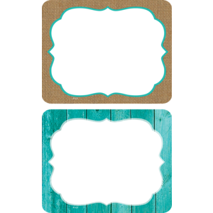 TCR77195 Shabby Chic Name Tags/Labels Image
