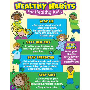 TCR7736 Healthy Habits for Healthy Kids Chart Image