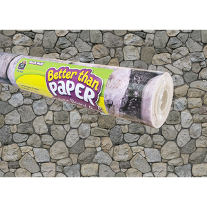TCR77451 Rock Wall Better Than Paper Bulletin Board Roll Image