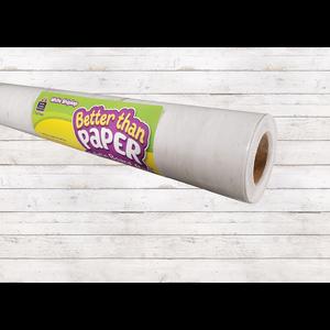 TCR77498 White Shiplap Better Than Paper Bulletin Board Roll Image