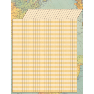 TCR7964 Travel the Map Incentive Chart Image