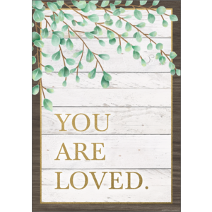 TCR7976 You Are Loved Positive Poster Image