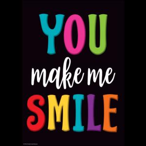 TCR7984 You Make Me Smile Positive Poster Image