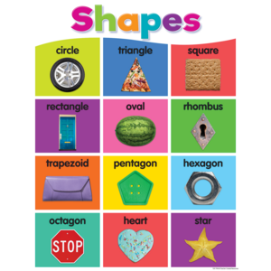 TCR7990 Colorful Shapes Chart Image