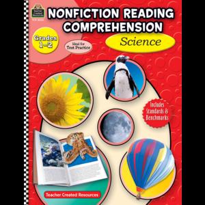 TCR8026 Nonfiction Reading Comprehension: Science, Grades 1-2 Image
